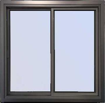 Photo d'une fenêtre coulissante