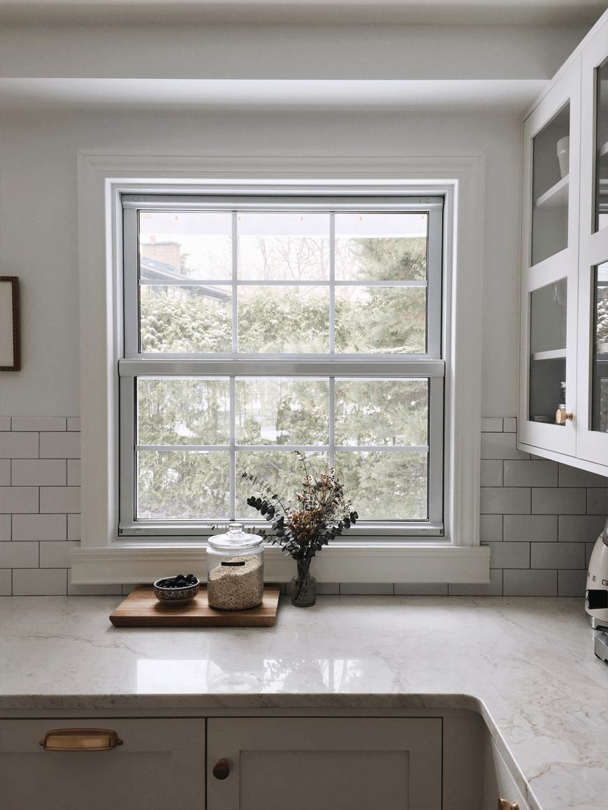 Fenêtre à guillautine
